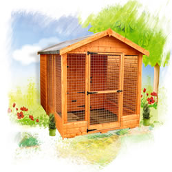 Kennels and animal houses